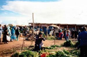 Small Locals Moroccan souk