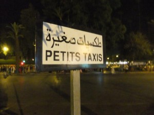 Petit Taxis in Marrakech