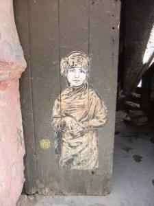 French street artist C215