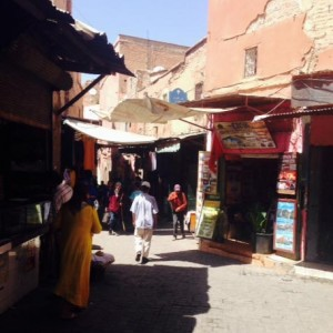 Marrakech Medina Shops
