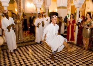 Entertainment Dancers Marrakech by John Cole