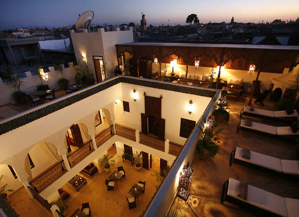 Riad assakina luxury riad in marrakech morocco book for Best riads in marrakesh
