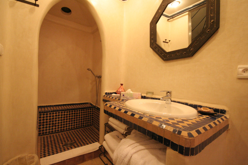 Berber Tent Bathroom