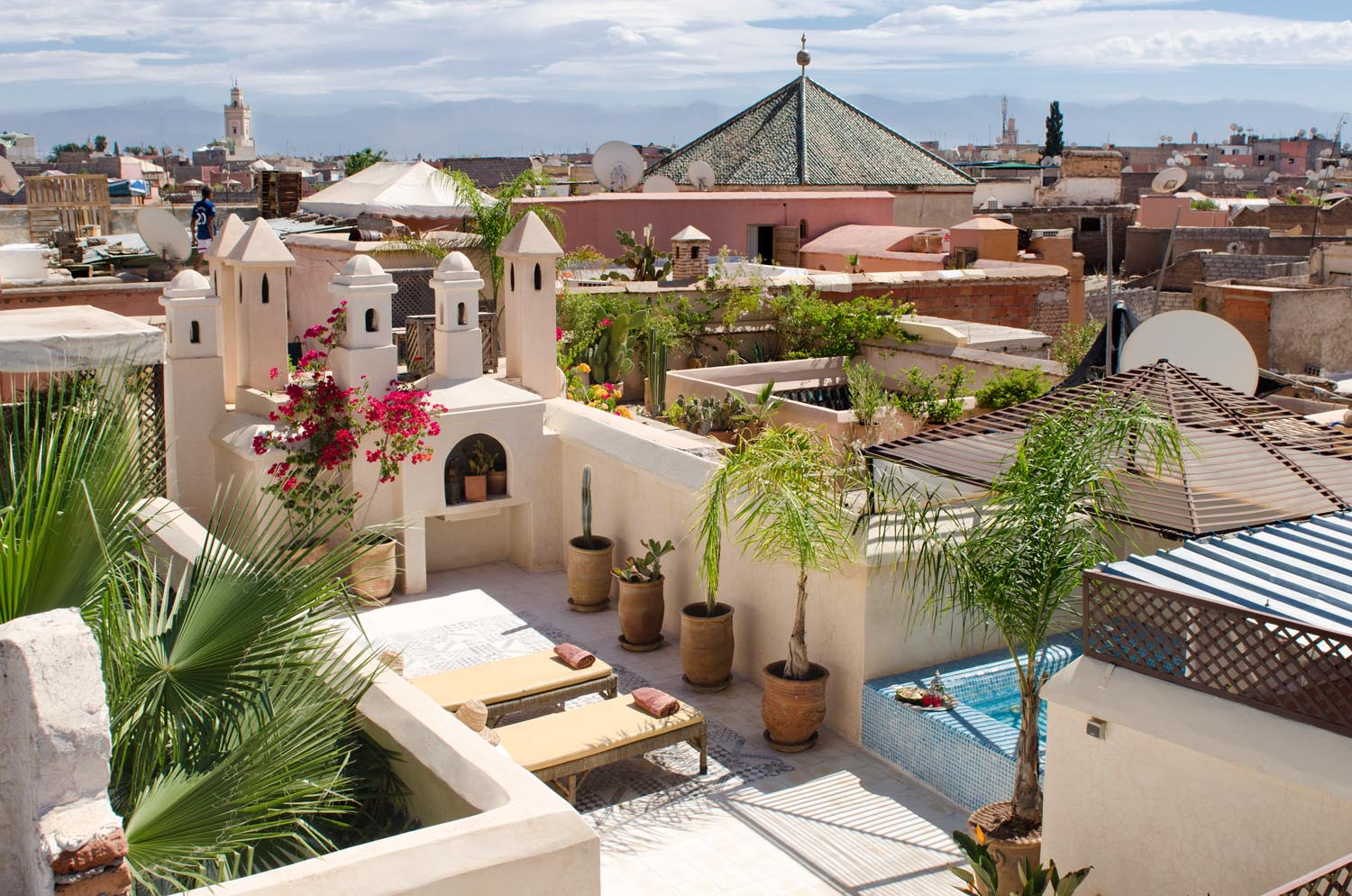 Riad vert luxury riad in marrakech morocco book riad for Top 10 riads in marrakech