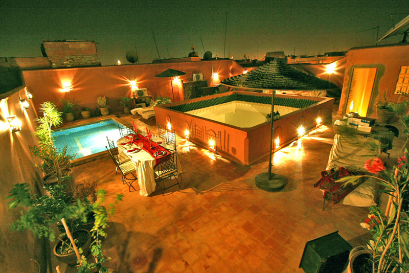 Terrace at Night