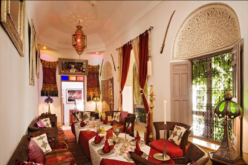 Dar Eliane Luxury Riad In Marrakech Morocco Book Dar