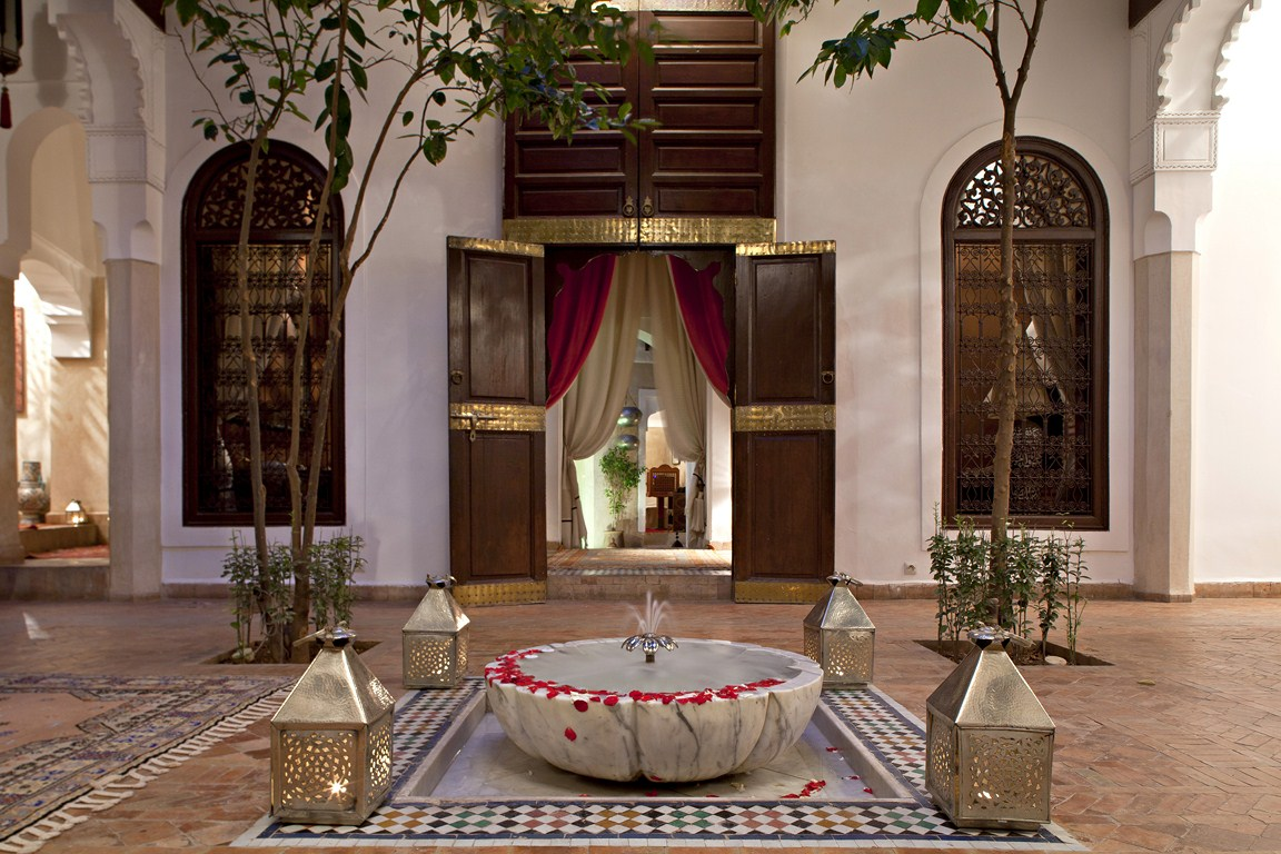 riad zolah luxury riad in marrakech morocco book riad. Black Bedroom Furniture Sets. Home Design Ideas