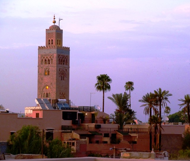 View of Koutoubia Mosque