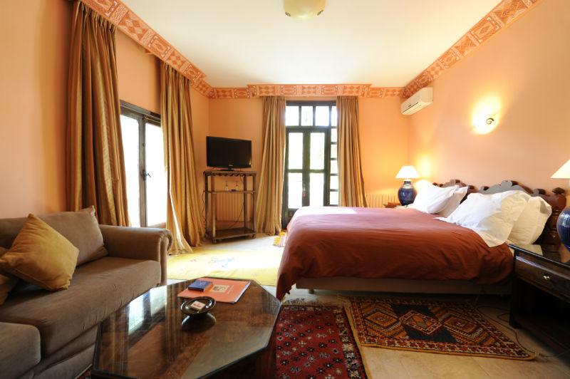 La roseraie riad de luxe marrakech maroc r servez la - Chambre a coucher atlas ...