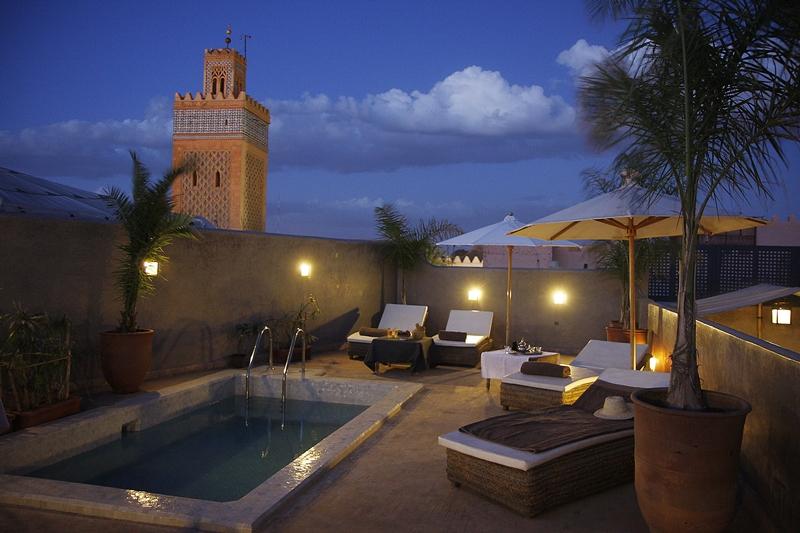 Terrasse Riad Awa
