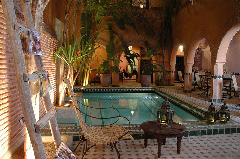 Riad amirat al jamal luxury riad in morocco book riad for Best riads in marrakesh