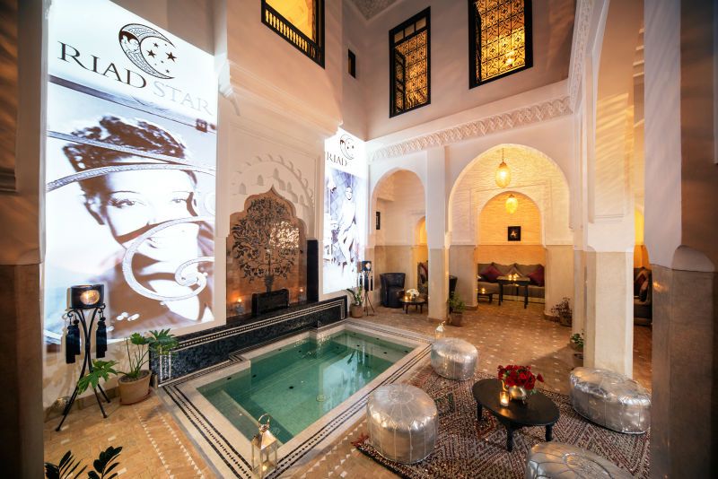 Riad star luxury riad in marrakech morocco book riad for Best riads in marrakesh