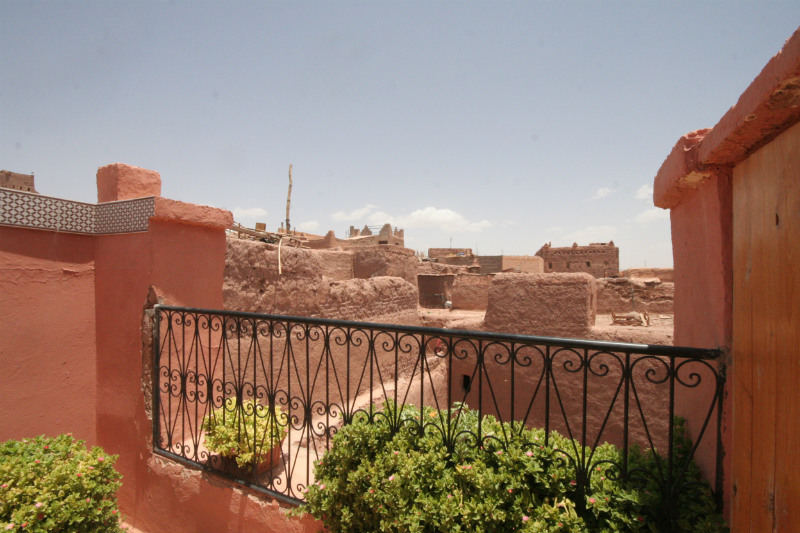 Terrace Views of the Kasbah
