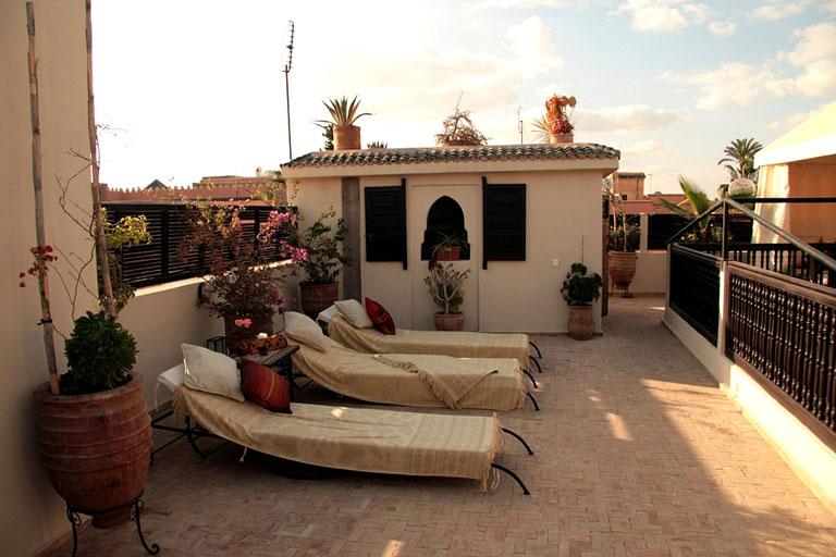 Riad diana luxury riad in morocco book riad diana today for Booking hoteles de lujo