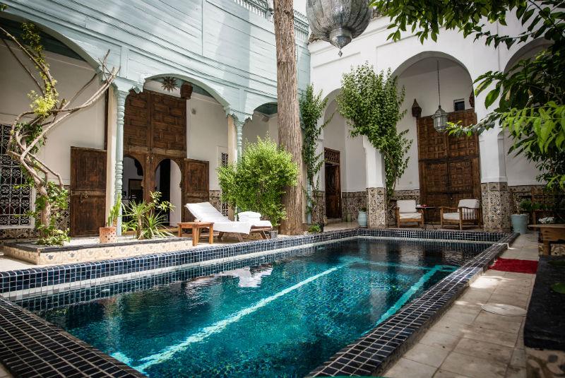 Riad edward luxury riad in marrakech morocco book riad for Luxury riad in marrakech