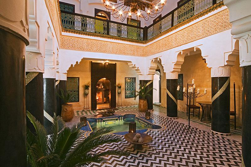Riad el mansour luxury riad in marrakech morocco book for Luxury riad in marrakech