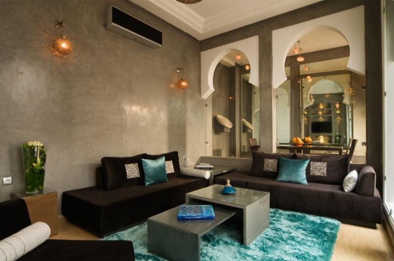 Riad chayma luxury riad in marrakech morocco book riad for Modern home decor for sale