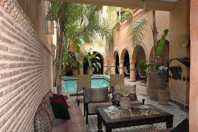 Riad amirat al jamal luxury riad in morocco book riad for Luxury riad in marrakech