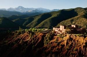 Kasbah hilltop view