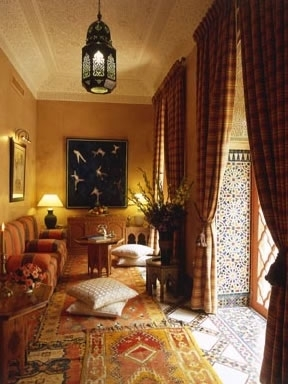Moroccan Salon
