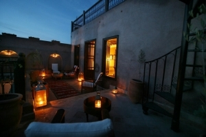 Terrace by Night