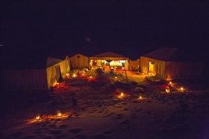 Camp at night 1