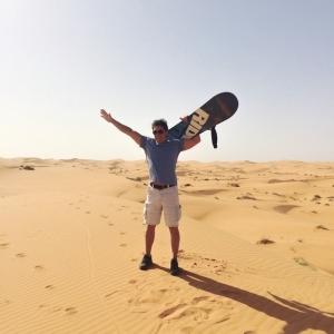 Sandboarding Erg Chebbi