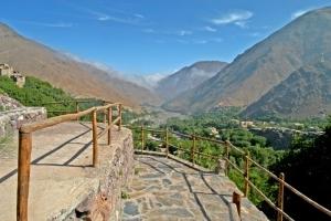 Kasbah View of Imlil Valley