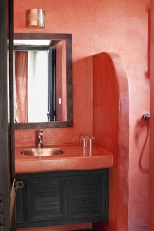 Salle de bain Suite Orange